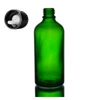 "Botella Vidrio Ámbar ""Farma"" 100ml"